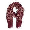 Dámska šatka s kvetinovým vzorom bata, viacfarebné, 909-0702 - 26