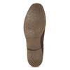 Kožená dámska obuv v Chelsea štýle bata, hnedá, 594-4682 - 18