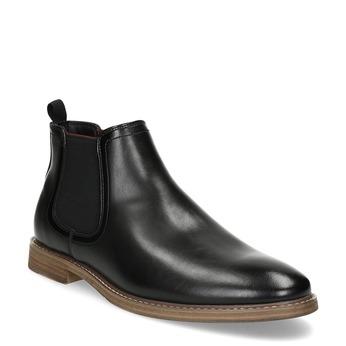 Čierna pánska Chelsea obuv bata-red-label, čierna, 821-6611 - 13