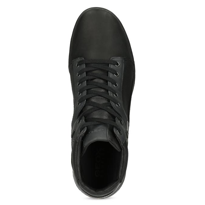 Pánska čierna členková obuv geox, čierna, 821-6033 - 17