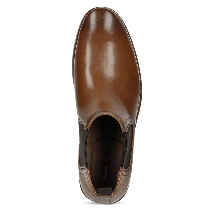 Pánska hnedá Chelsea obuv bata-red-label, hnedá, 821-3611 - 17
