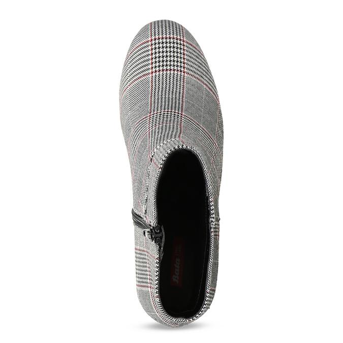 Členková dámska obuv so vzorom bata-red-label, viacfarebné, 799-1628 - 17