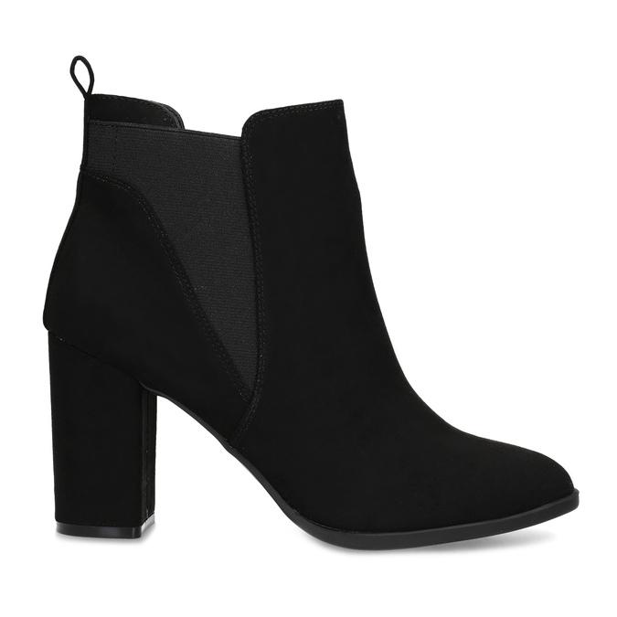 Členková dámska obuv v Chelsea štýle bata-red-label, čierna, 799-6629 - 19