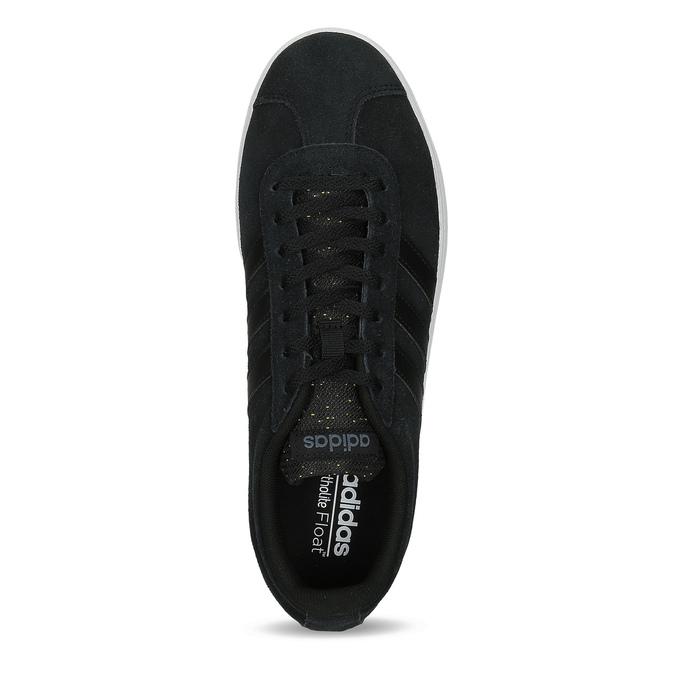 Čierne pánske kožené tenisky adidas, čierna, 803-6119 - 17