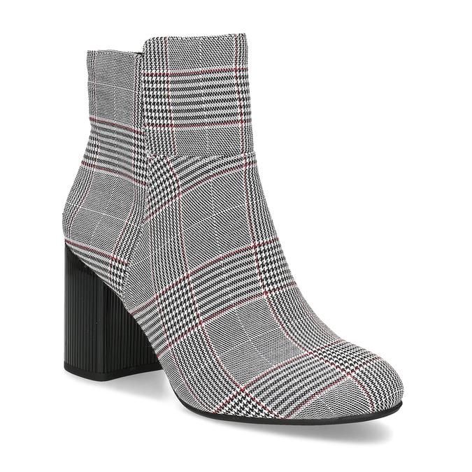Členková dámska obuv so vzorom bata-red-label, viacfarebné, 799-1628 - 13