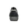Kožené pánske šedé tenisky bata, modrá, 846-9714 - 15