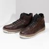 Členková kožená pánska zimná obuv bata, hnedá, 896-3712 - 16