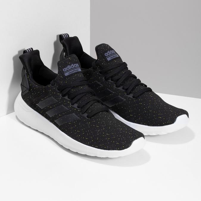 Členkové pánske tenisky so vzorom adidas, čierna, 809-6114 - 26