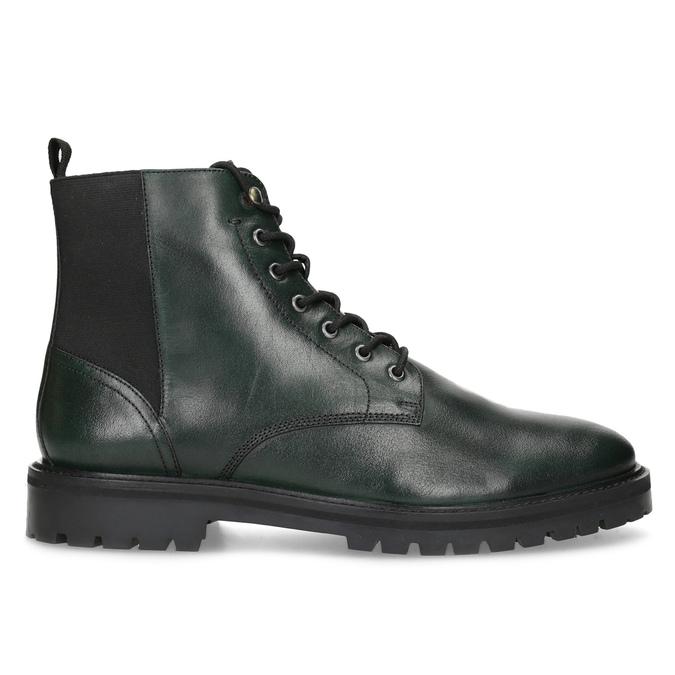 Pánska členková obuv tmavozelená bata, zelená, 896-7722 - 19
