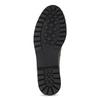 Kožená dámska Chelsea obuv s kovovými cvočkami bata, šedá, 596-9734 - 18