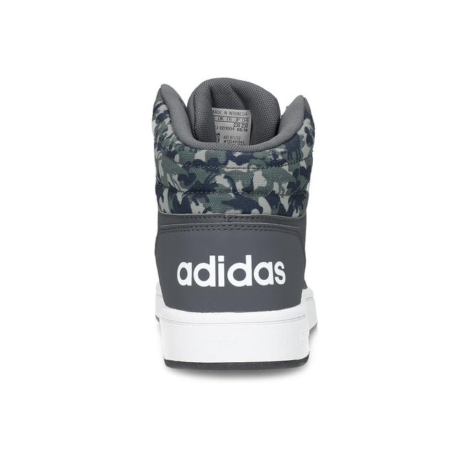 Šedé členkové detské tenisky adidas, šedá, 401-2395 - 15