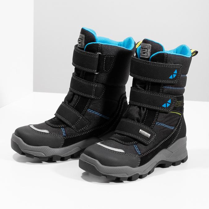 Chlapčenské vysoké snehule mini-b, čierna, 299-6615 - 16