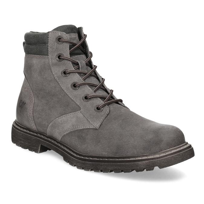 Weinbrenner Pánska šedá kožená členková obuv - Weinbrenner  a22e5230c29