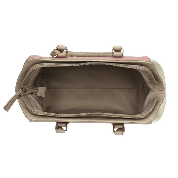 Dámska staroružová kabelka bata-red-label, ružová, 961-5928 - 15