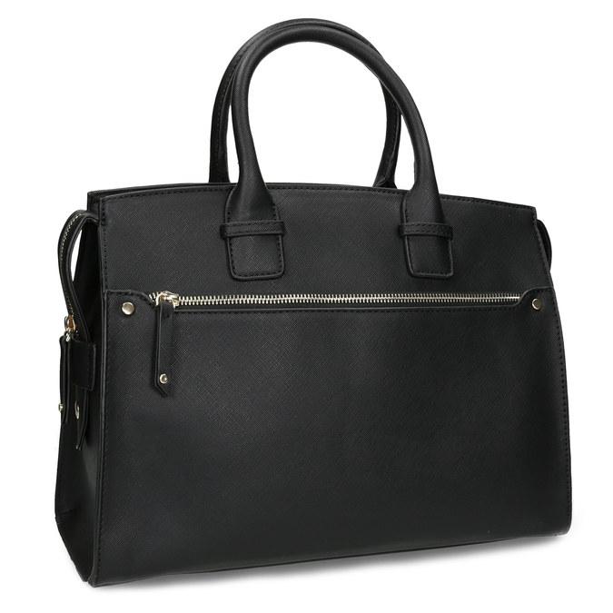 Dámska čierna kabelka bata, čierna, 961-6916 - 13