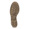Biele kožené čižmy na stabilnom podpätku weinbrenner, biela, 696-1667 - 18