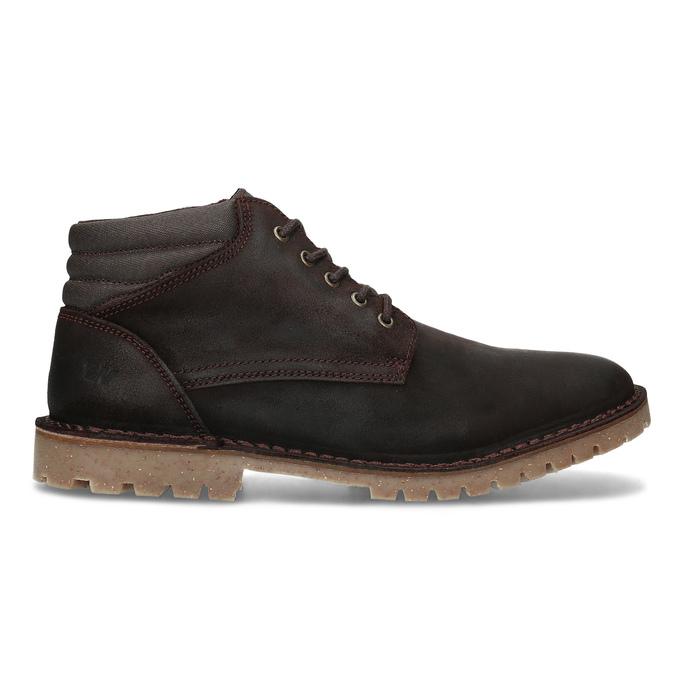 Hnedá pánska kožená členková obuv weinbrenner, hnedá, 896-4630 - 19