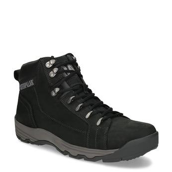 Kožená pánska členková outdoorová obuv caterpillar, čierna, 806-6107 - 13