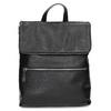 Kožený čierny batôžtek bata, čierna, 964-6607 - 26
