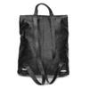 Kožený čierny batôžtek bata, čierna, 964-6607 - 16