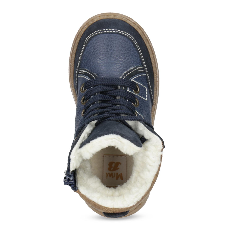 2519ab19a ... Detské modré kožené zimné topánky mini-b, modrá, 294-9601 - 17 ...