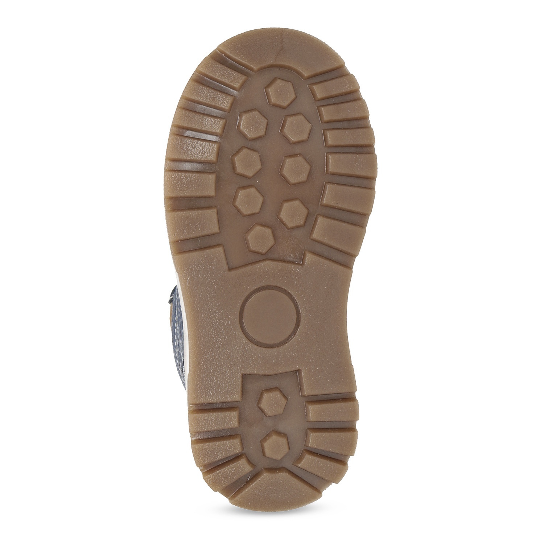 47502e5c2 ... Detské modré kožené zimné topánky mini-b, modrá, 294-9601 - 18