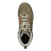Pánska khaki kožená outdoorová obuv merrell, 803-7104 - 17