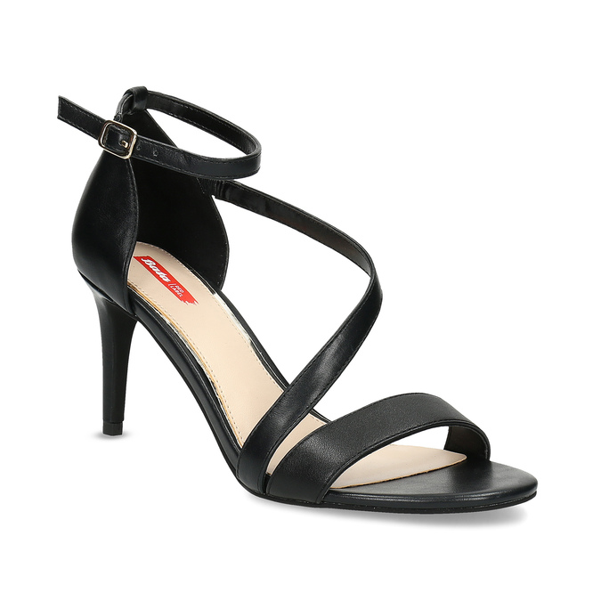 451733f1d8e9 Bata Red Label Čierne sandále na ihličkovom podpätku - Sandále
