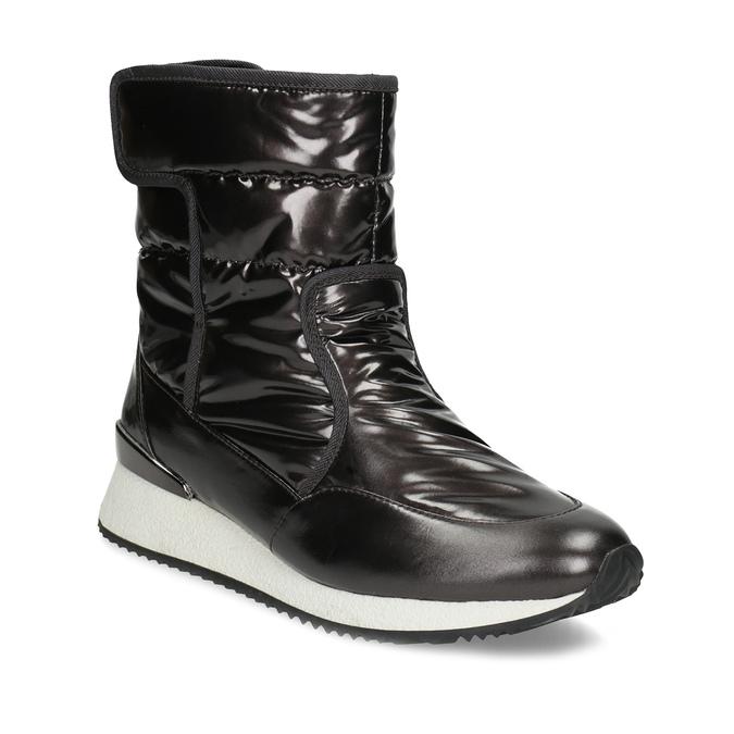 75e9c49d4b2ac Dámske čierne metalické snehule bata, čierna, 599-6626 - 13
