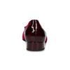 Vínové zamatové balerínky gabor, červená, 629-5106 - 15