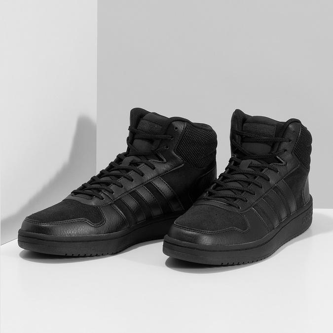 Pánske členkové tenisky čierne adidas, čierna, 803-6118 - 16