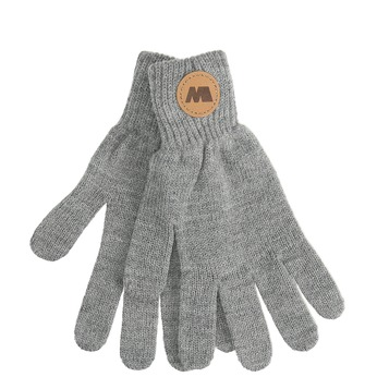 Šedé textilné rukavice weinbrenner, šedá, 909-2733 - 13