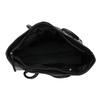 Čierna kožená kabelka bata, čierna, 964-6604 - 15