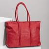 Červená kožená kabelka bata, červená, 964-5604 - 17