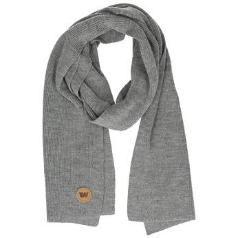 Šedý šál s hnedým detailom weinbrenner, šedá, 909-2729 - 13