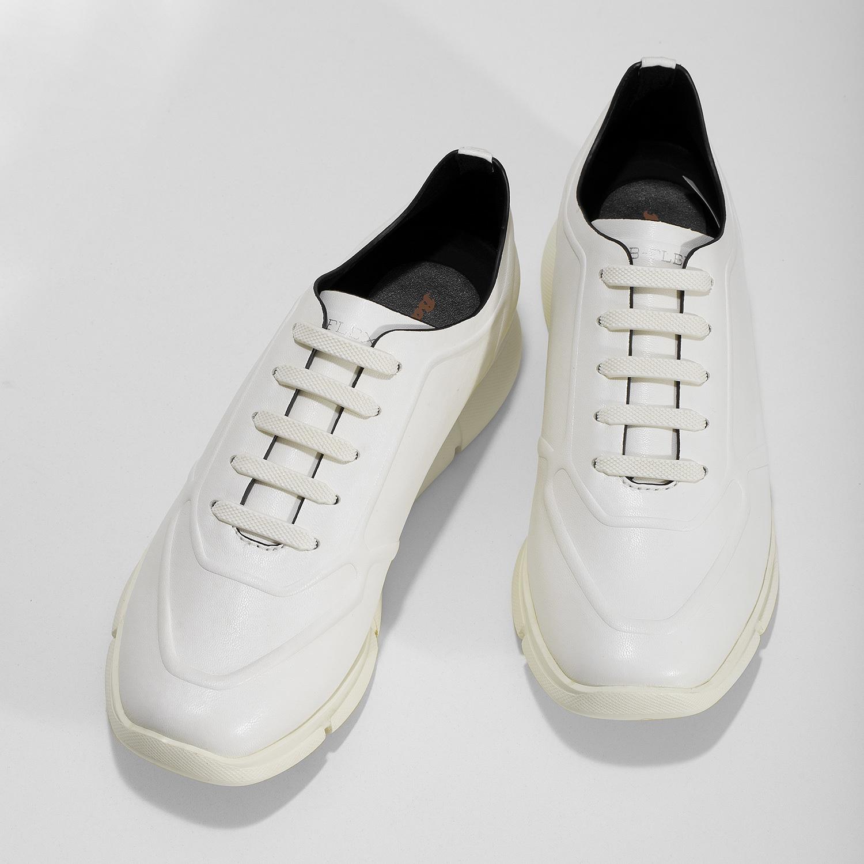 7ffc74a84a84 Bata B Flex Dámske biele tenisky - Mestský štýl