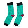 Unisex ponožky s vianočnými motívmi bata, zelená, 919-7775 - 26