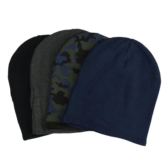 Pletená čiapka bata, viacfarebné, 909-0487 - 13