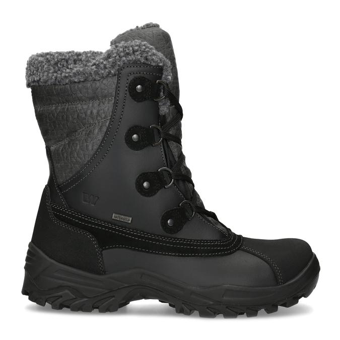 Pánske zimné snehule so zateplením weinbrenner, čierna, 896-6730 - 19