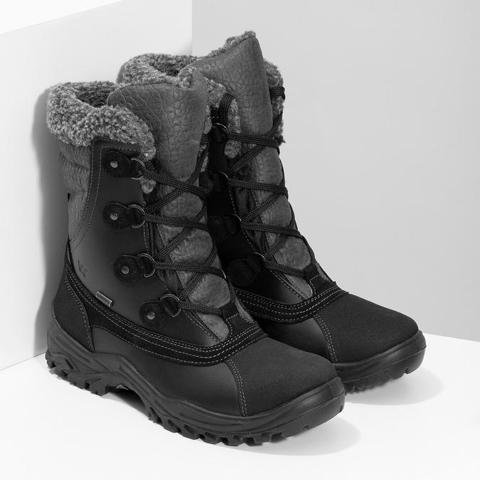 Pánske zimné snehule so zateplením weinbrenner, čierna, 896-6730 - 26