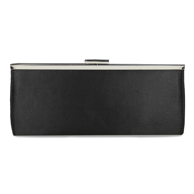 Čierna dámska listová kabelka s retiazkou bata, čierna, 969-6811 - 26