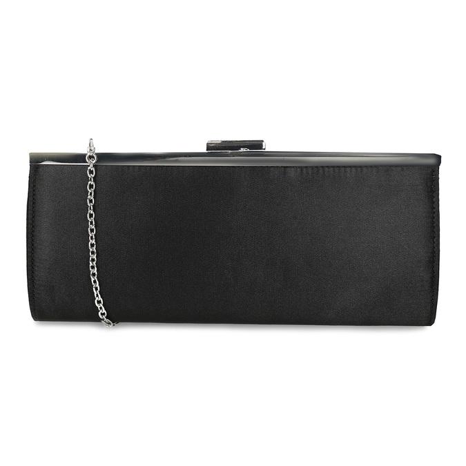Čierna dámska listová kabelka s retiazkou bata, čierna, 969-6811 - 16