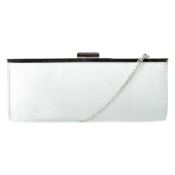 Elegantná dámska listová kabelka s retiazkou bata, strieborná, 969-1811 - 16