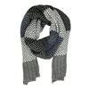 Pánsky pletený pruhovaný šál bata, viacfarebné, 909-0692 - 26