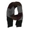 Pánsky pletený pruhovaný šál bata, viacfarebné, 909-0692 - 16