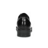 Kožené dámske mokasíny s cvočkami flexible, čierna, 514-6147 - 15