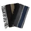 Pánsky šál so širokými pruhmi a strapcami bata, viacfarebné, 909-0700 - 13