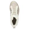 Kožená členková zimná obuv s kožúškom weinbrenner, béžová, 596-8730 - 17