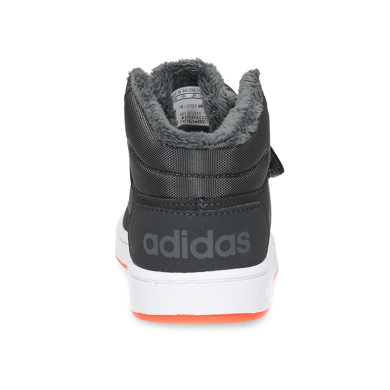 Adidas Detské zimné členkové tenisky šedé - Tenisky  2d68a5eb3c8