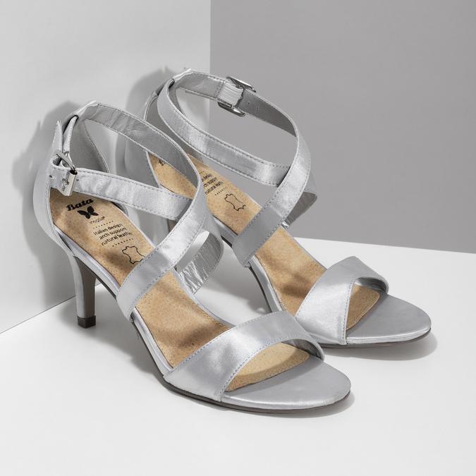 b1003b4831 Insolia Strieborné sandále na ihličkovom podpätku - Vianočné tipy ...